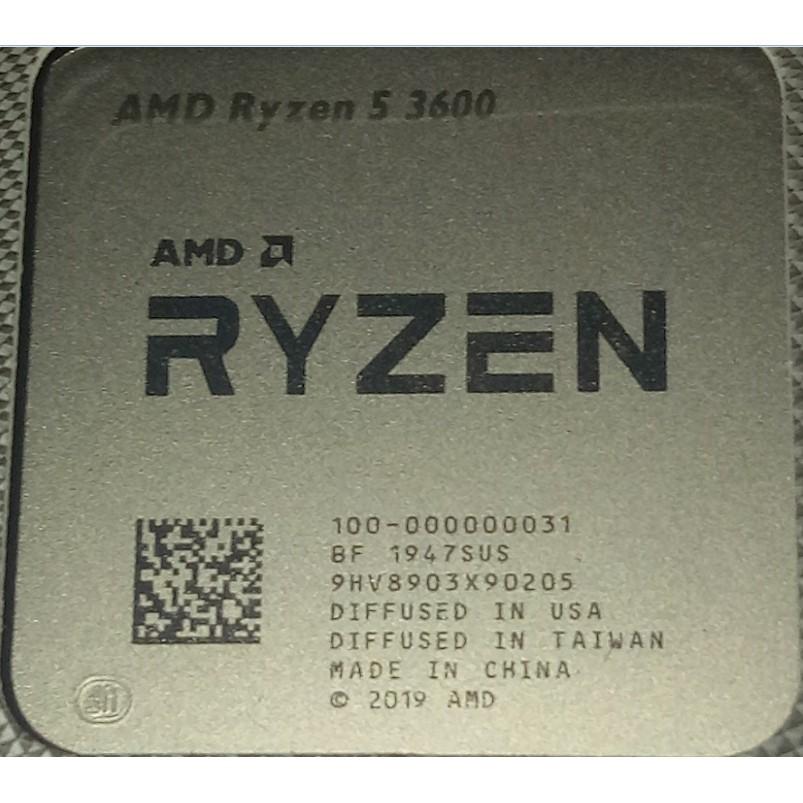 """""""現貨+預購"""" r5 3600 r5 3500X r7 3700X r3 3100 AMD Ryzen 5 3600"""