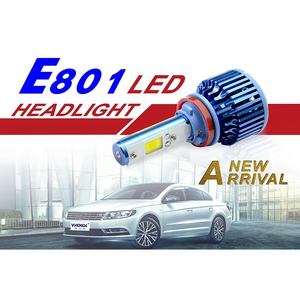 最新訂製 鹵素光 3000K~4300K中間 LED大燈泡 霧燈 CREE COB 鋼鐵人