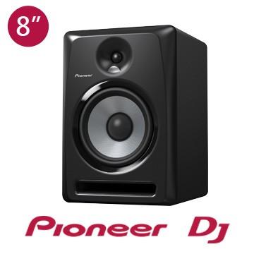 Pioneer S-DJ80X 8吋監聽喇叭 (黑色、白色) (夜店、舞曲、EDM、重低音、Hiphop)