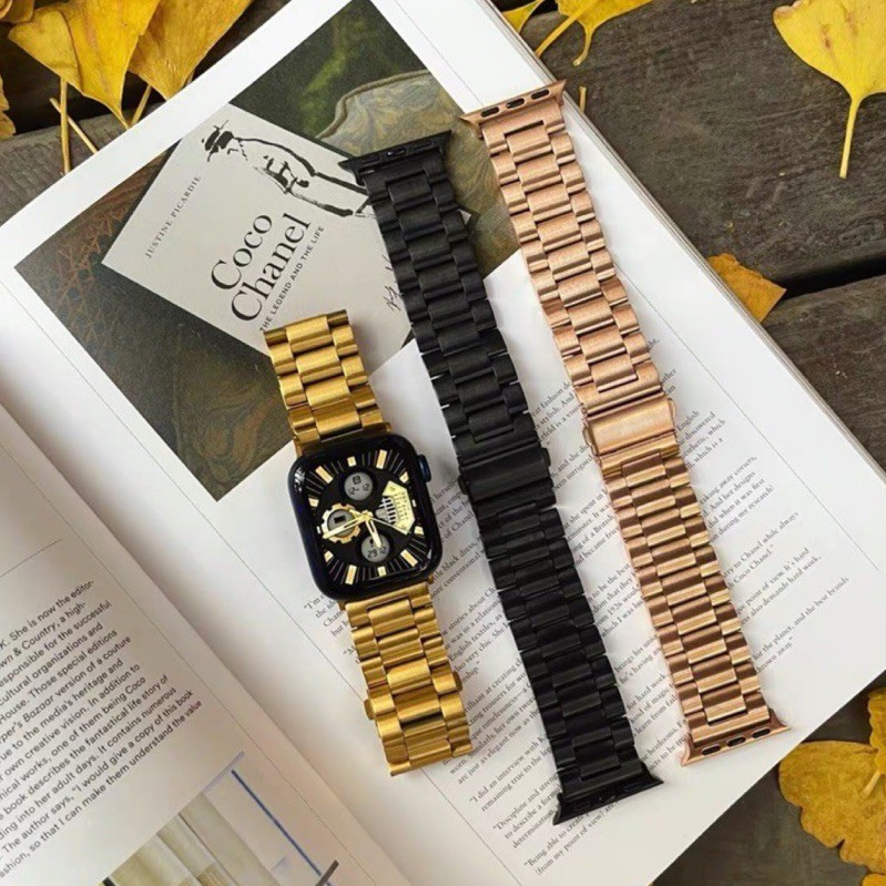 Apple Watch - 厚磅鈦鋼石英錶錶帶