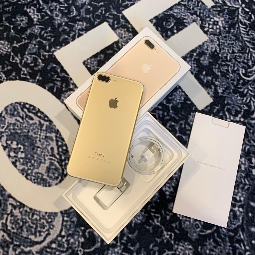 iPhone 7 plus 128G 金色 台中店面 二手好貨 8 X 64G 256G XR Max 銀 黑 灰 粉
