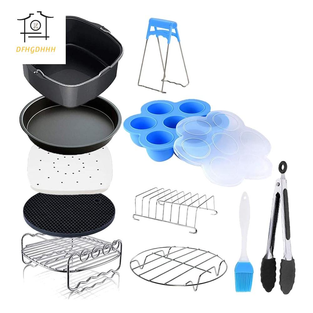 11件方形油炸鍋配件,適用於飛利浦油炸鍋,COSORI和其他方形油炸鍋和烤箱