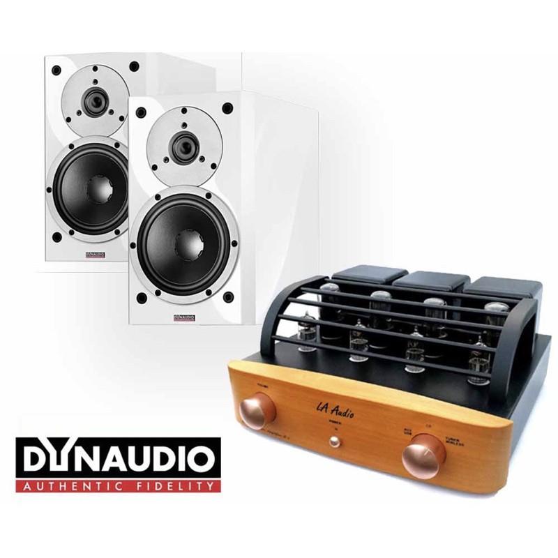 佑昇音響嚴選兩聲道組合:丹麥Dynaudio X12 書架式喇叭 + LA Audio M3 擴大機(佑昇升級版)