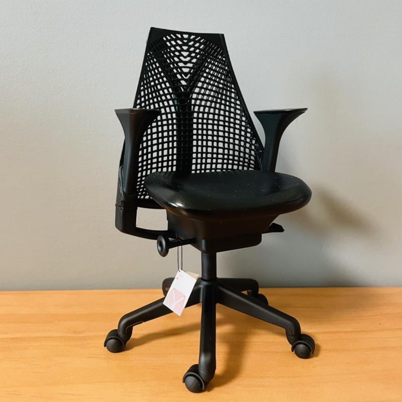 herman miller sayl 赫曼米勒風格 全黑 電腦工學椅模型 模型 模型