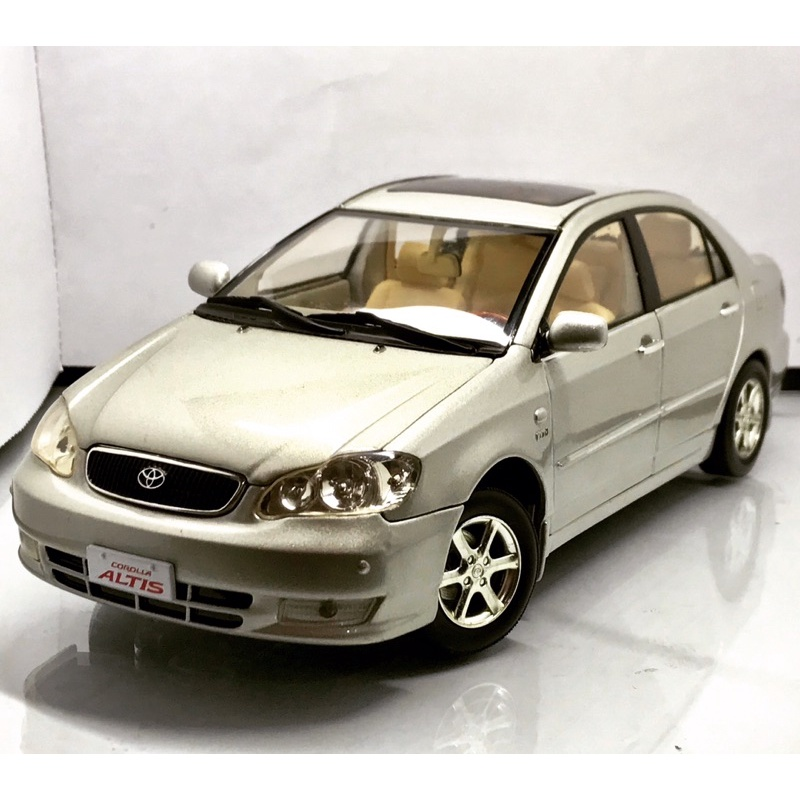 [C.M.C精選模型🌟]「現貨」原廠絕版模型 Toyota Corolla Altis 1:18 1/18模型車