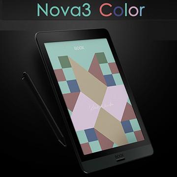 onyx boox nova3 color 7.8吋 彩色 全彩 Kaleido 電子閱讀器 Android 10