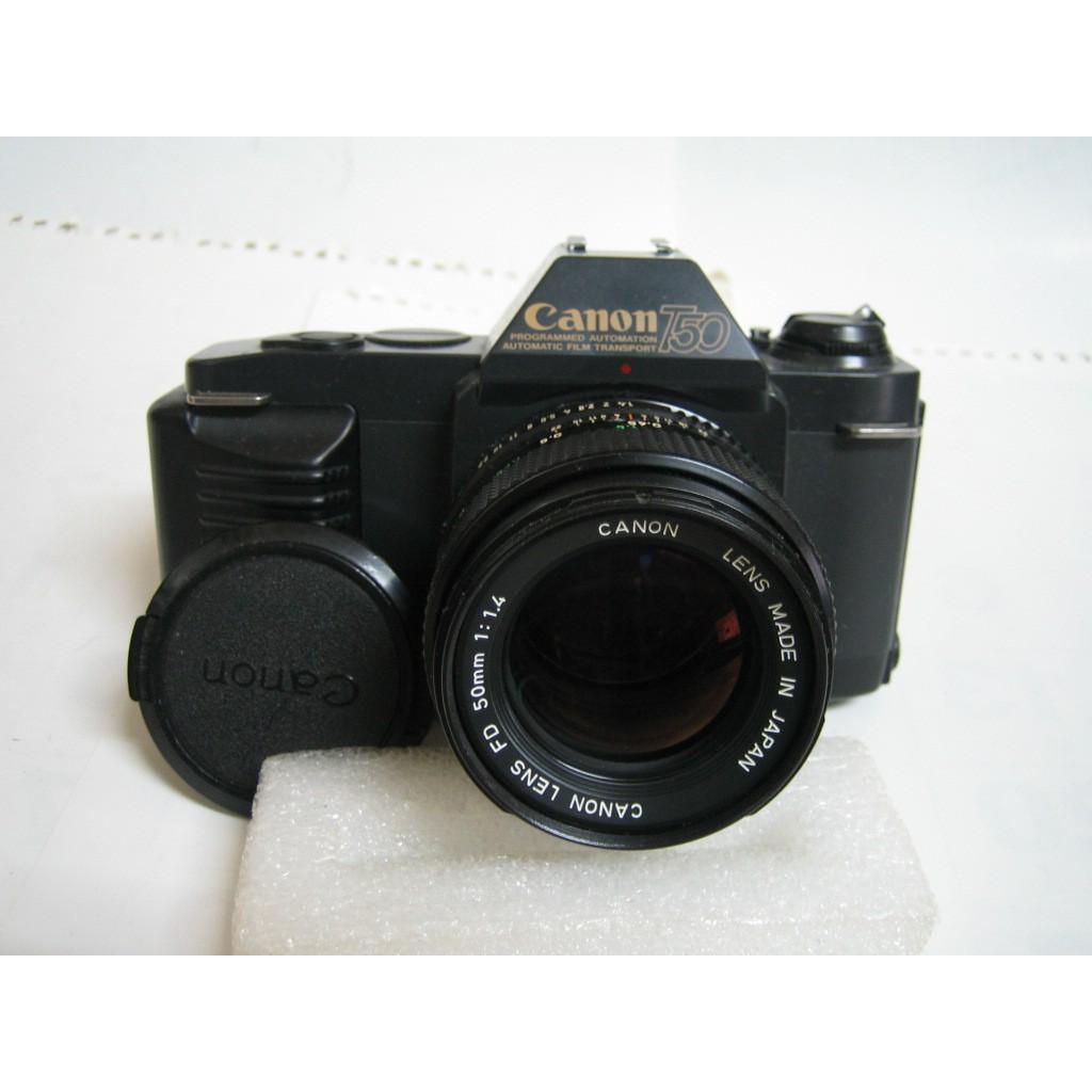 CANON T50 底片單眼相機 原廠 50MM F1.4鏡頭
