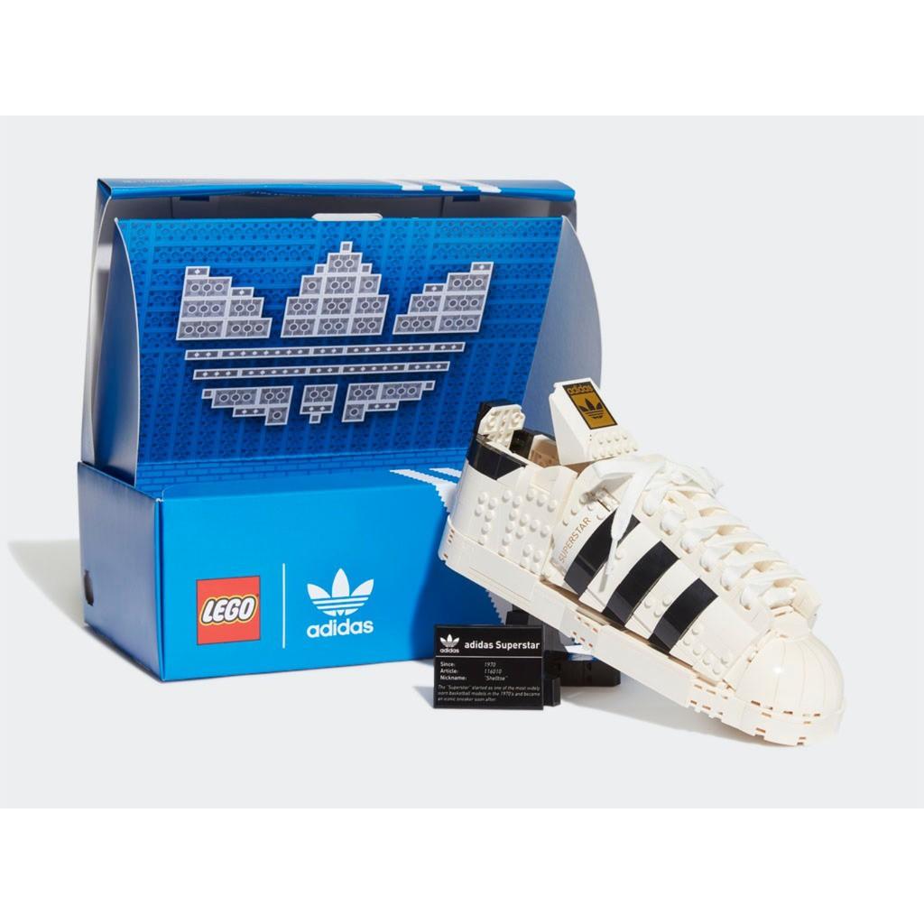 【台南 益童趣】<現貨> LEGO 10282 Adidas Originals Superstar 愛迪達 收藏