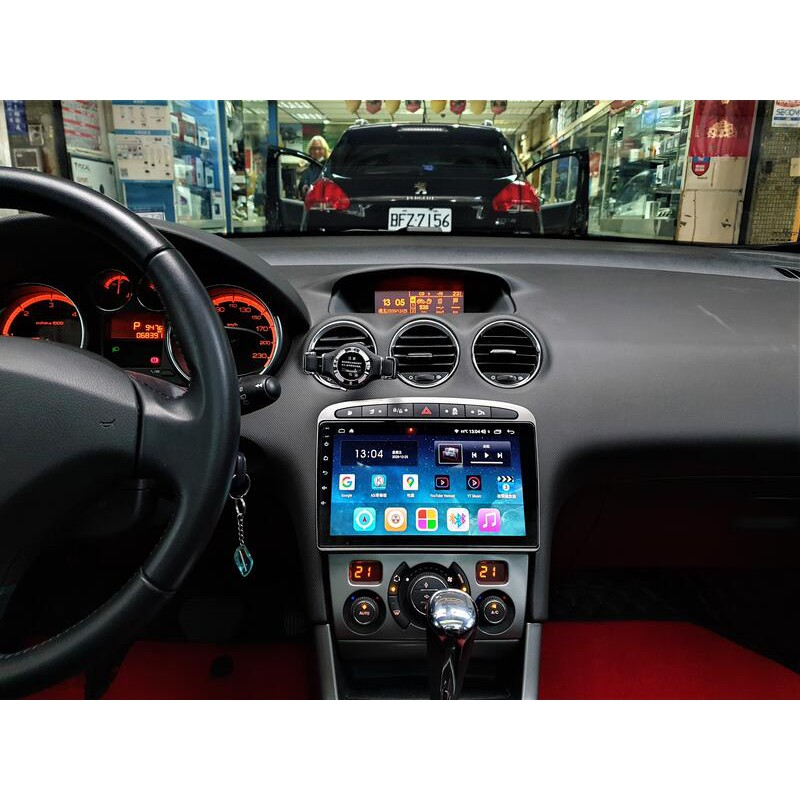 標致 Peugeot 308 408 RCZ 2021年式10.2吋安卓10.0版八核6+128智能導航旗艦車機