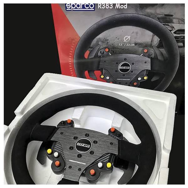 方向盤用盤面 Sparco R383 Thrustmaster【電玩國度】T300 TX T-GT系列適用 / 預購商品
