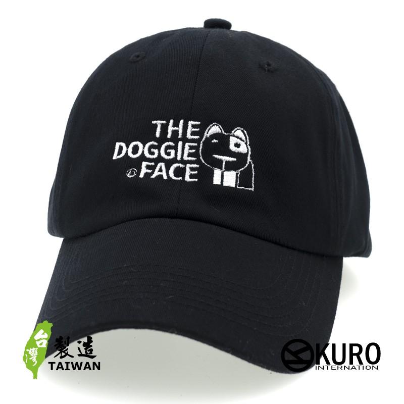KURO-SHOP THE DOGGIE FACE 電繡 老帽 棒球帽 布帽(可客製化)