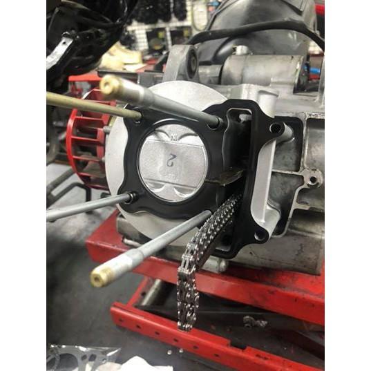光陽雷霆150引擎吃機油維修換汽缸