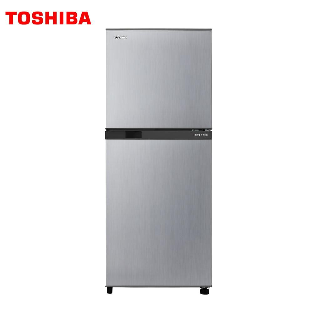 限北北桃竹跨區偏遠另計【TOSHIBA東芝】192公升變頻雙門冰箱 GR-A25TS(S)典雅銀安裝+舊機回收