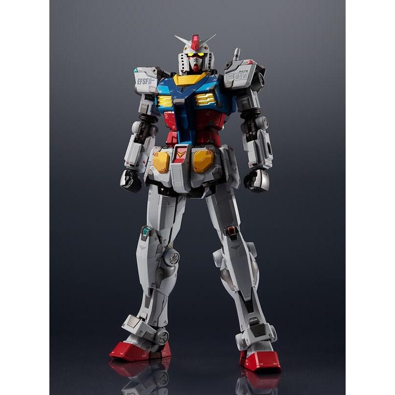 日空版 GFY 橫濱會場限定 超合金x鋼彈 RX-78F00 鋼彈 合金塗裝完成品