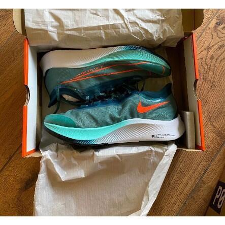 現貨Nike Zoom Fly 3 RRM HAKONE 青綠 CD4570-300 慢跑鞋男