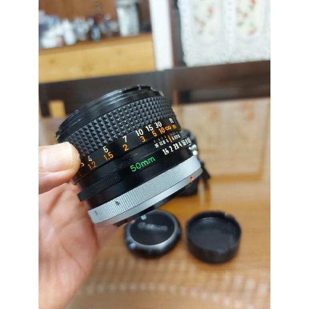 Canon A1旗艦相機 + FD 50mm F1.4 SSC 超級鍍膜