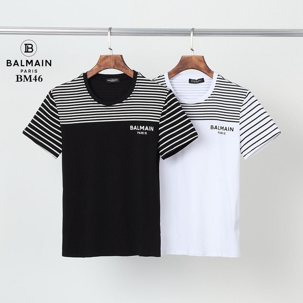 Balmain 巴爾曼短袖 短t 短袖T恤 純棉短袖 男生T恤 短袖上衣 百搭 休閒短t