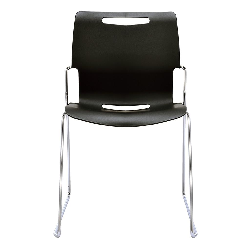 !好市多線上代購(宅配免運) #119501 Cache 可堆疊辦公椅(黑)(D000072-G)