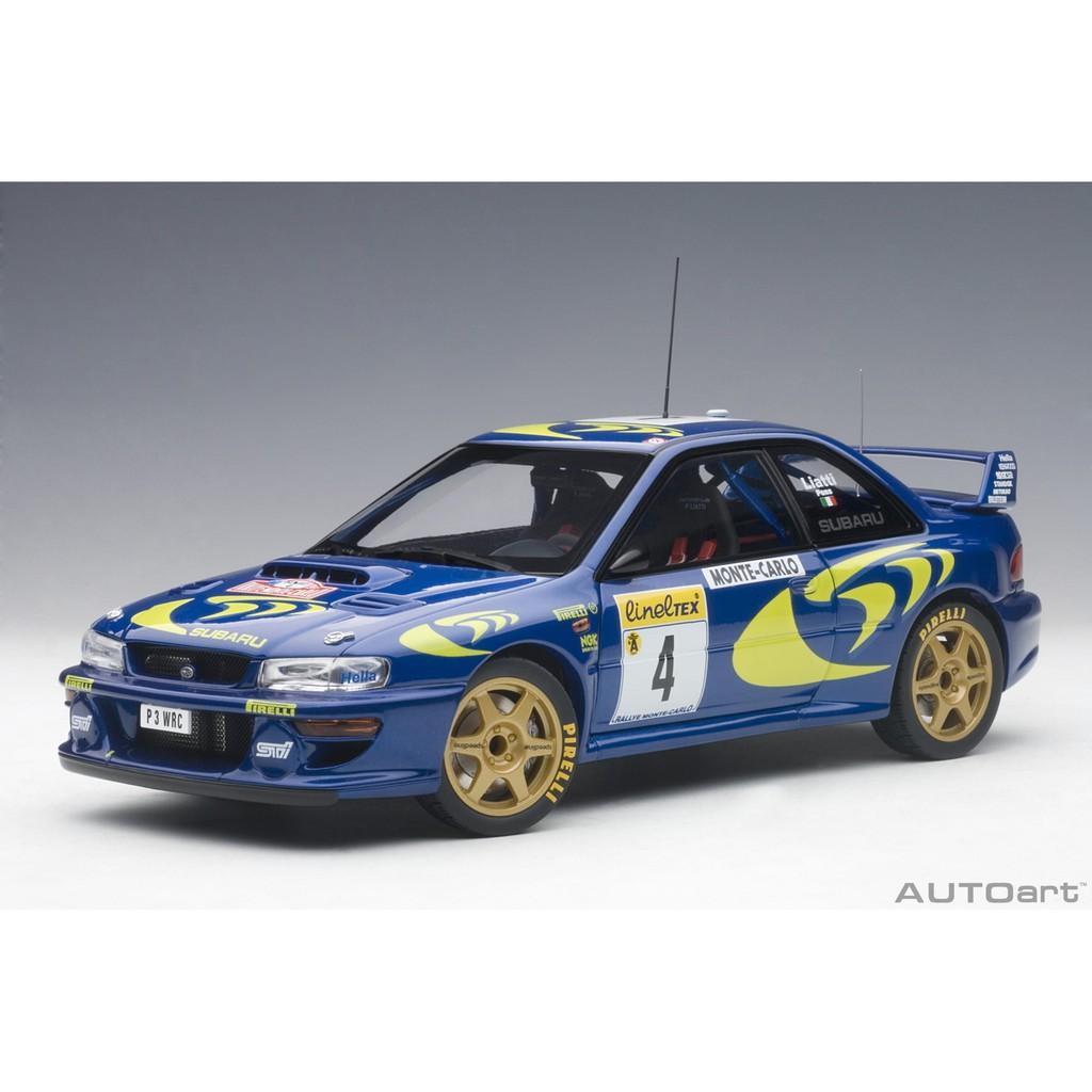 特價品 吉華科技@ 1/18 AutoArt 89791 Subaru Impreza WRC Rally
