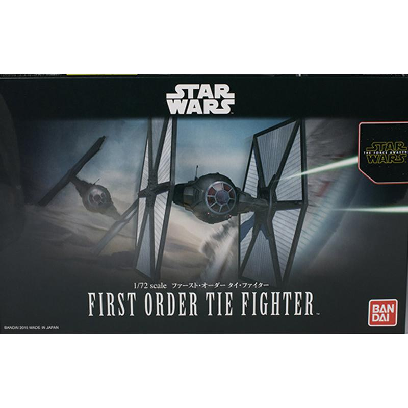 【鋼普拉】BANDAI 星際大戰 1/72 STAR WARS FIRST ORDER TIE FIGHTER 鈦戰機