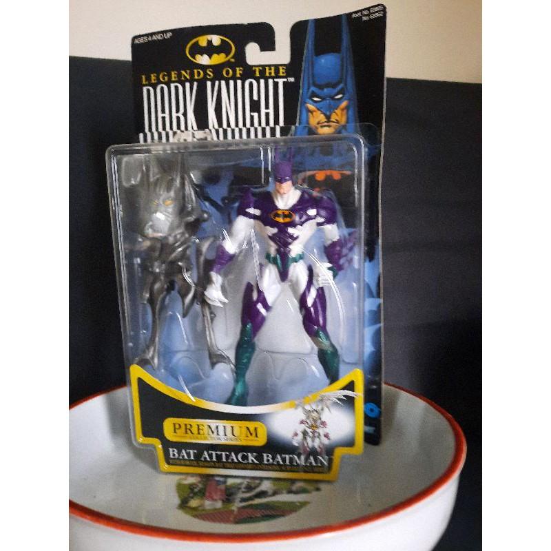 【約瑟夫的懷舊玩具屋】絕版品 1996 KENNER BATMAN 異次元蝙蝠俠 ATTACK BATMAN