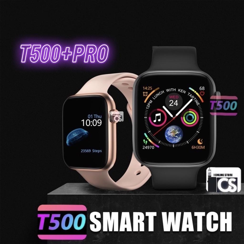 最新T500 / T500 + PLUS / T500 + PRO SMART WATCH藍牙通話44mm觸摸屏運動手錶