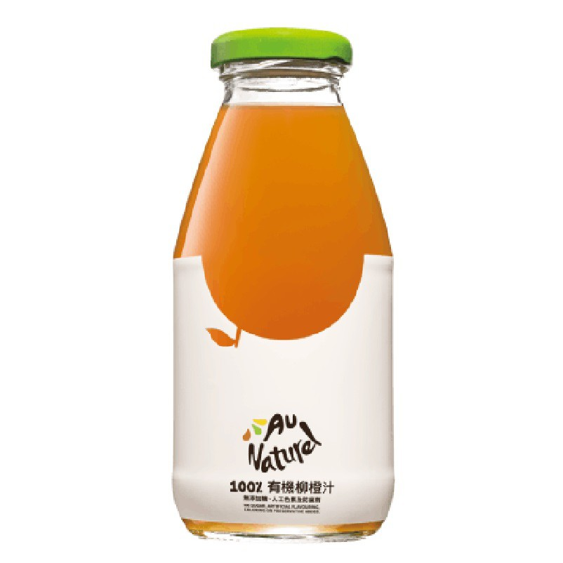 奧納芮有機柳橙汁(295ml/瓶)