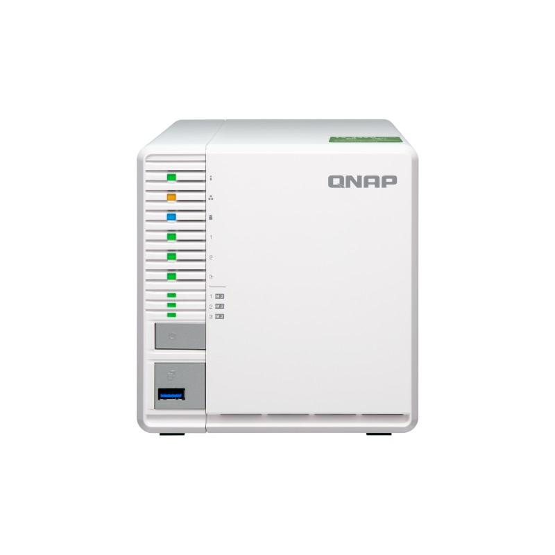 QNAP 威聯通 TS-332X-2G 3Bay 網路儲存伺服器