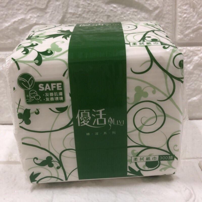 (現貨)優活抽取式衛生紙300抽36包、限全家取貨、優活衛生紙、優活抽取式衛生紙