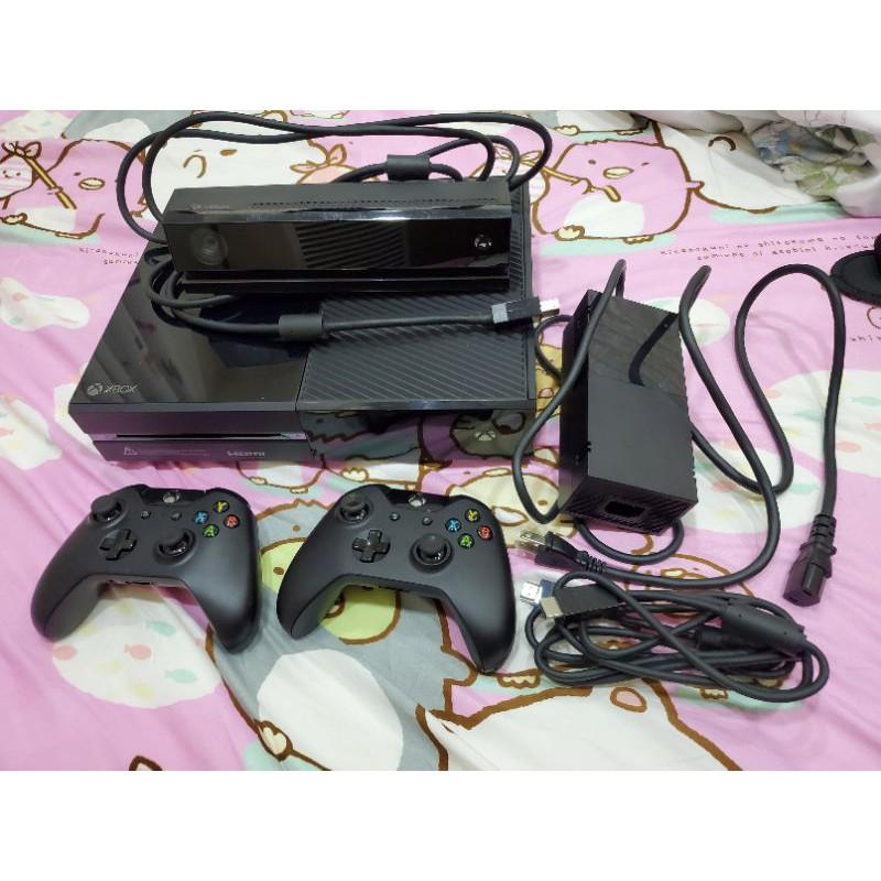 二手 Xbox One 500G 主機 含提袋+ Kinect +10片實體光碟