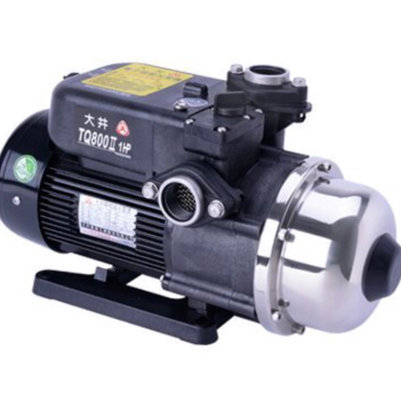 TQ800B大井泵浦220V電子式穩壓加壓機,加壓機,1HP加壓馬達 ,大井馬達,抽水馬達,大井加壓馬達桃園經銷商