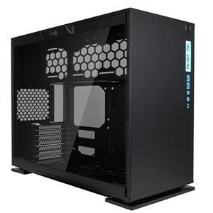 【GO蝦拚百貨】免運  賣場迎廣 303C- RGB & Type-C 極簡玻璃透側 機殼