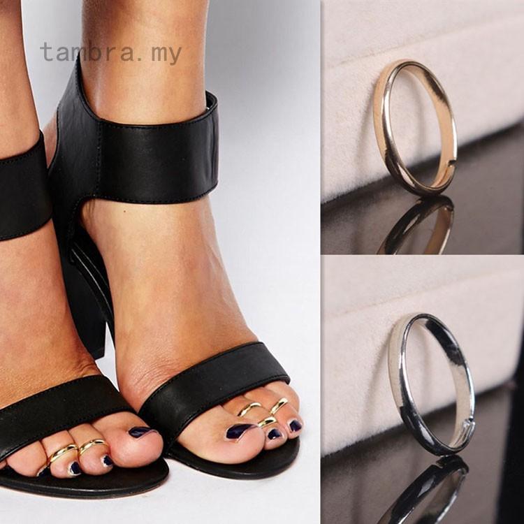 tambra漂亮的沙灘戒指風格的腳趾時裝設計黃金婦女女士實用腳金屬