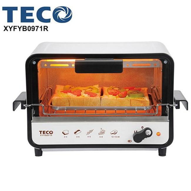 TECO東元9L防燙外取式電烤箱XYFYB0971R