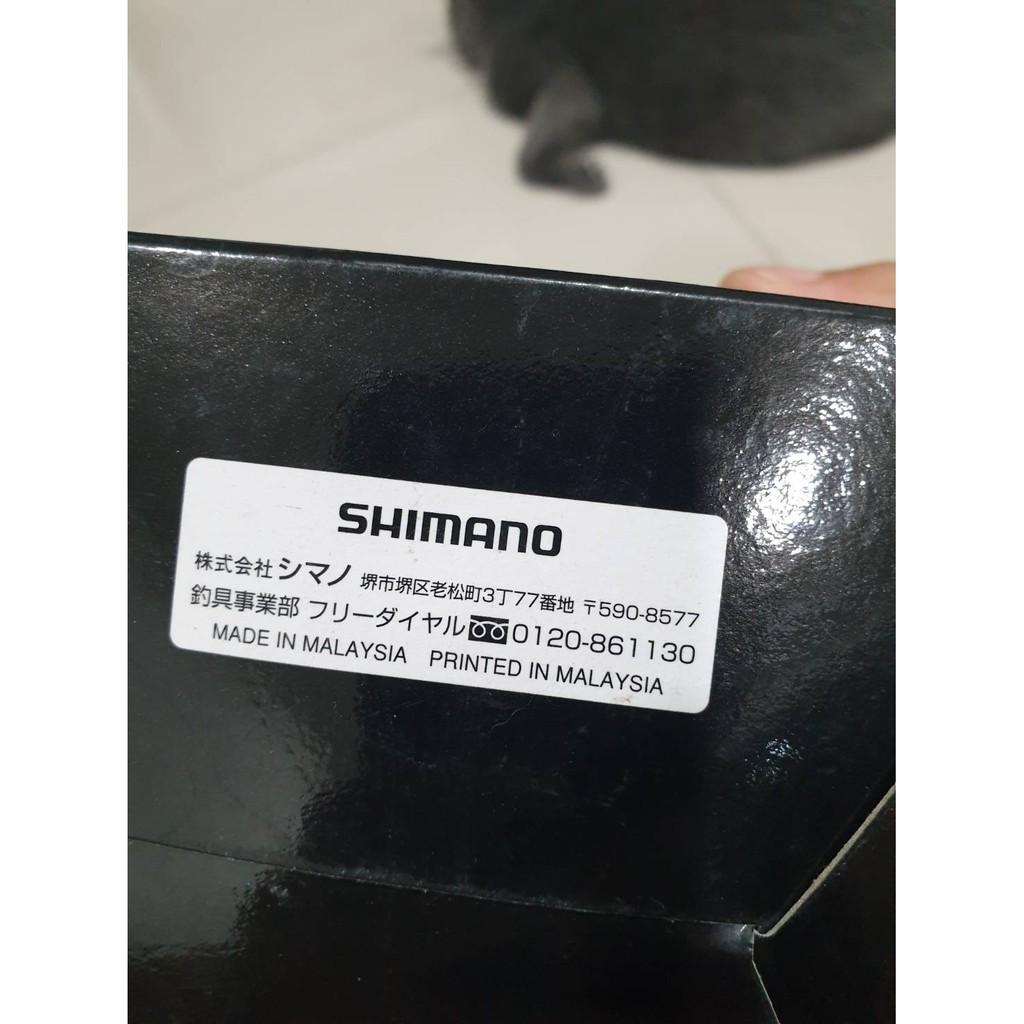 shimano 全新捲線器 2000型 含原廠盒及說明書