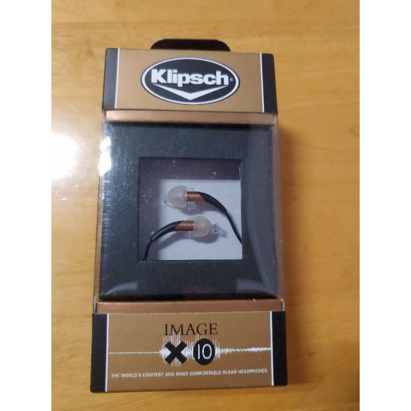 古力奇 Klipsch Image X10 耳機