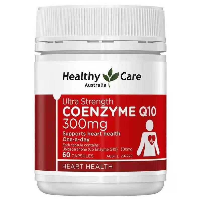 <預購>Healthy Care Q10 300mg 超強度 輔酶Q10 60粒