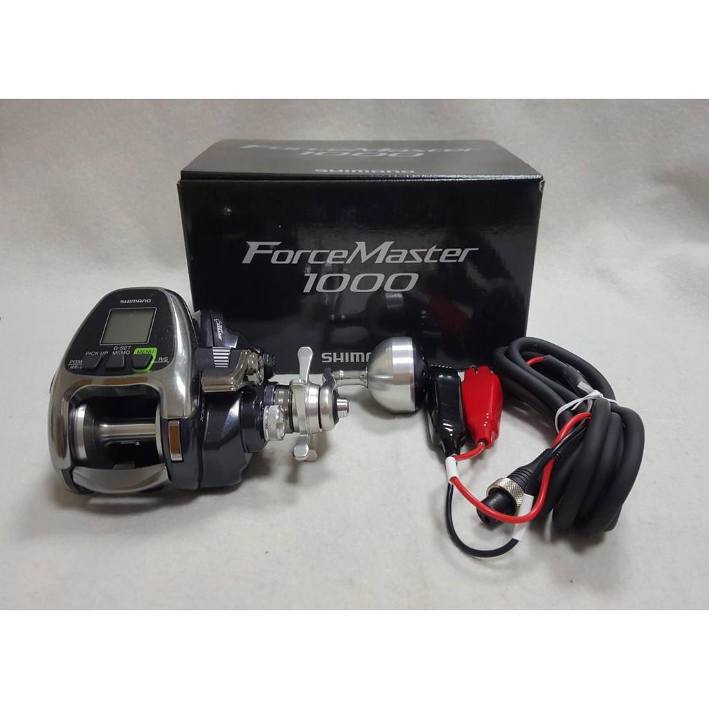 🔥【平昇釣具】🔥SHIMANO 16年 FORCE MASTER 電動捲線器 1000型 全新品