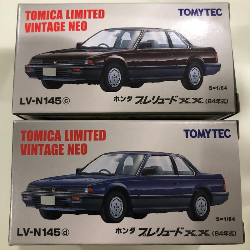 Tomytec tomica lv-n145c lv-n145d Honda prelude XX