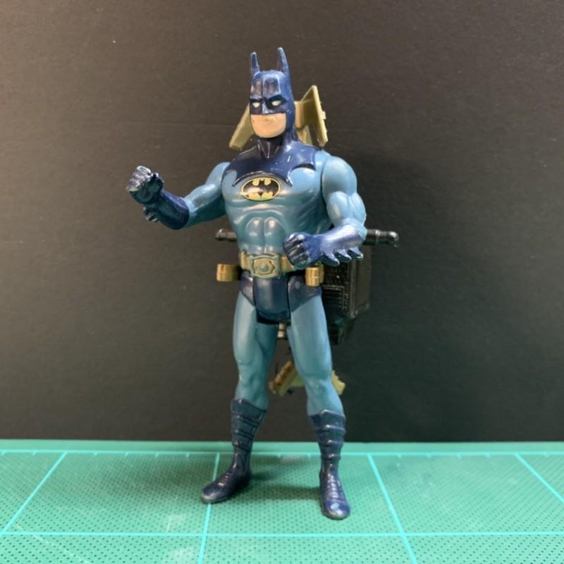 1990 Kenner 蝙蝠俠 裝甲後背包 Batman DC