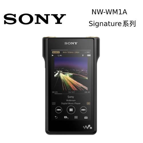 SONY 索尼 NW-WM1A MP3 隨身聽 128GB 公司貨 Signature 系列【私訊再折】