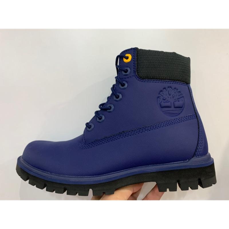 "TIMBERLAND RADFORD RUBBERIZED 6"" WP A1UMP A1R7B A1R5M 藍色 海軍藍"