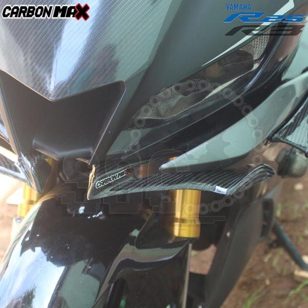 Moto橘皮 R3 定風翼 碳纖維 r15 cbr250rr gsxr150 cbr150r ninja400