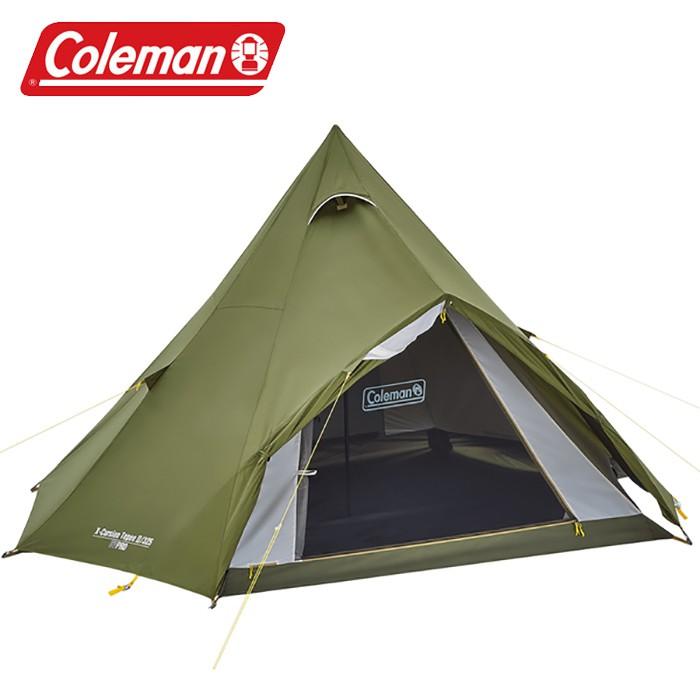 【Coleman 美國】橄欖山印地安帳/325 露營帳蓬 (CM-38140M000)