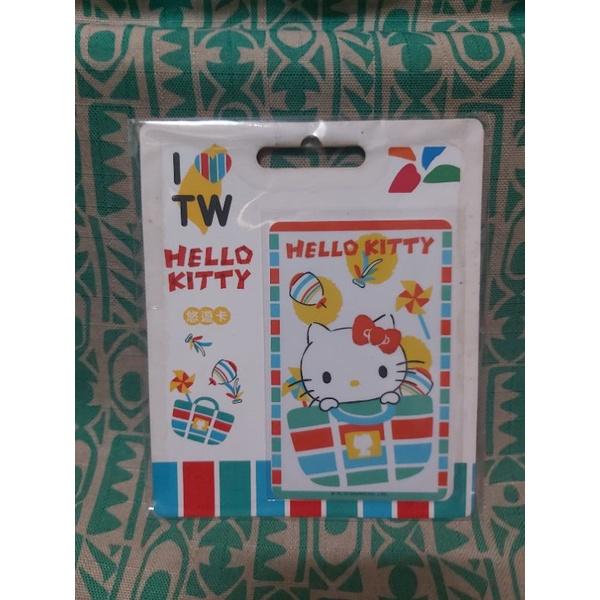 小NG 全新 限量 三麗鷗系列 台灣復古風 HELLO KITTY茄芷袋悠遊卡-打包KT 款