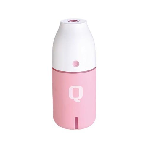 廣寰KF-310 牛奶瓶造型噴霧加濕器(粉紅)