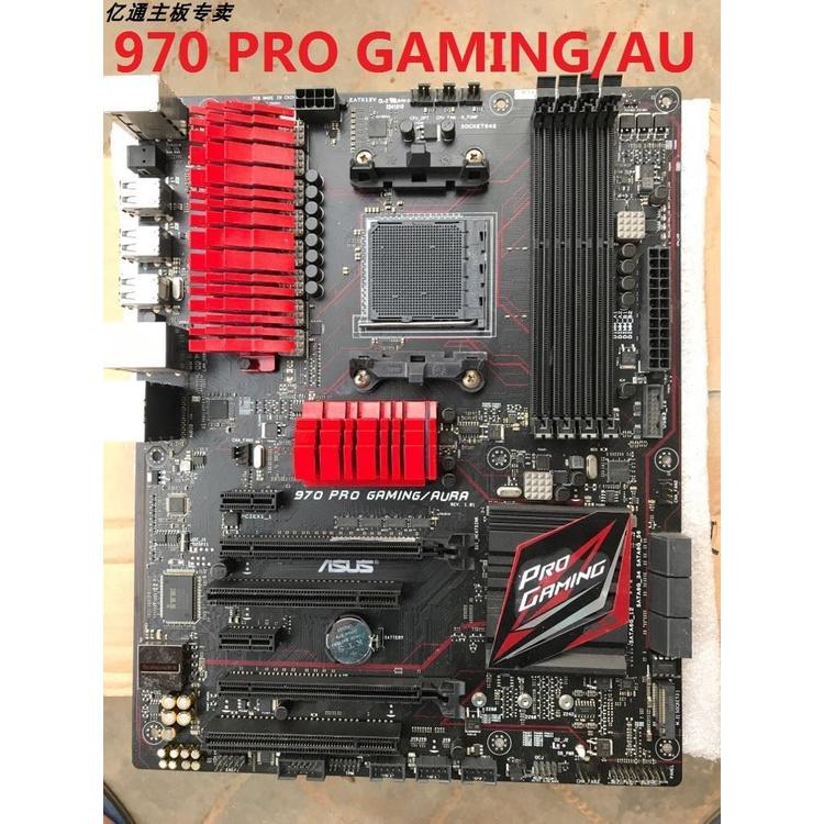 裝機精選~Asus/華碩970 PRO GAMING/AURA M5A99X EVO R2.0主機板實物照