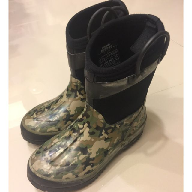好市多 兒童防寒雨鞋 21.3cm 二手