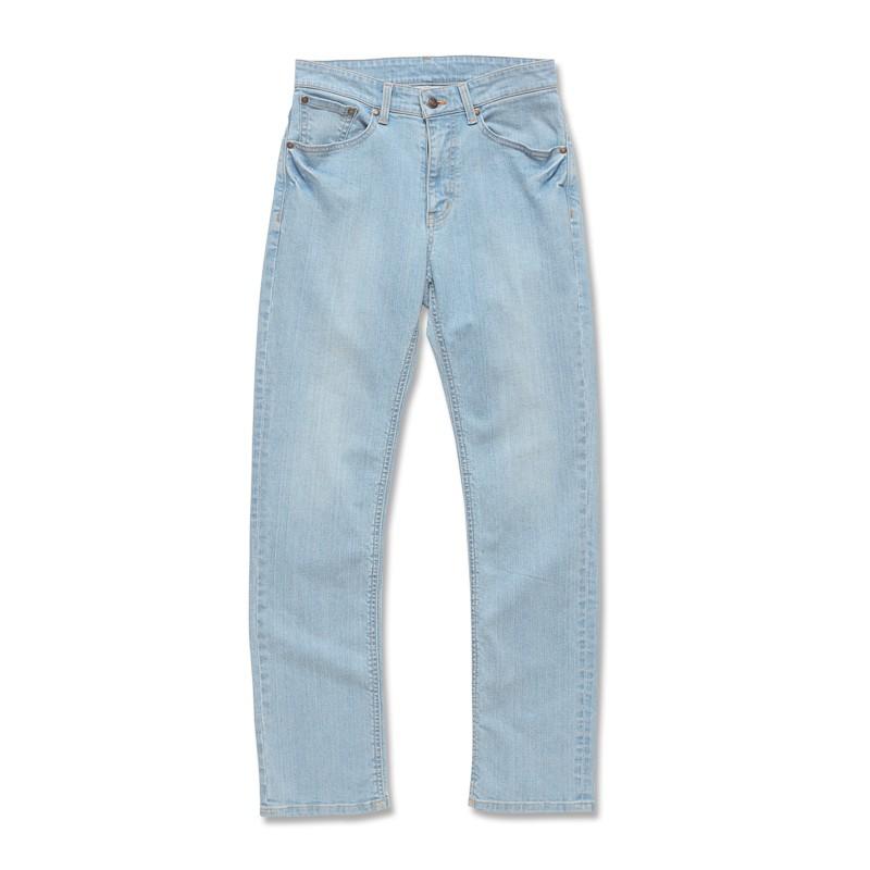 【ERSS】中直筒牛仔褲 - 男 (長版 85cm) 漂洗藍 S40053