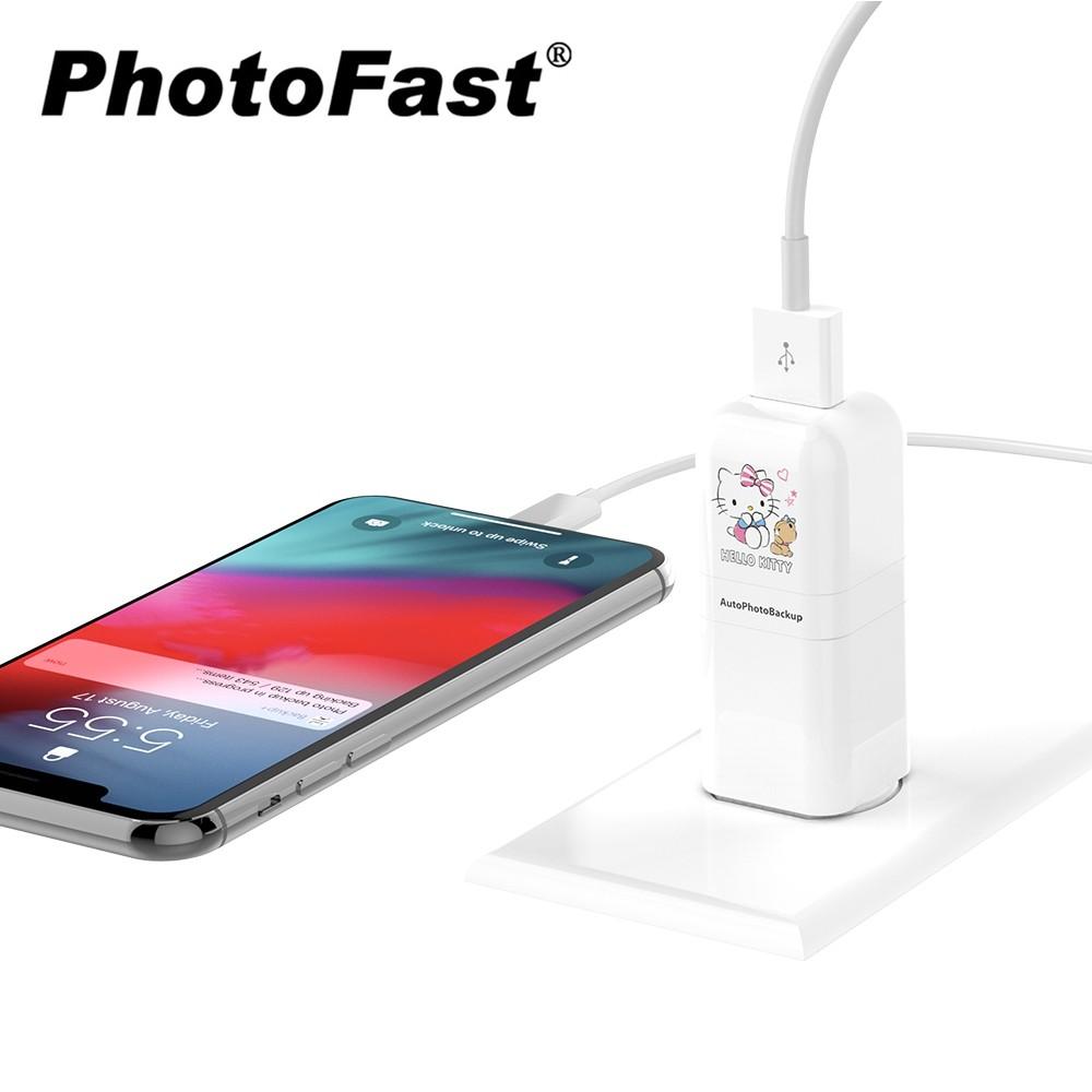 Photofast x Hello Kitty PhotoCube 蘋果專用 備份方塊 備份豆腐頭 讀卡機